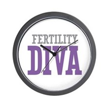 Fertility DIVA Wall Clock