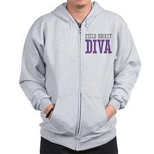 Field Hockey DIVA Zip Hoodie
