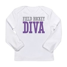 Field Hockey DIVA Long Sleeve Infant T-Shirt