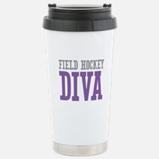 Field Hockey DIVA Stainless Steel Travel Mug