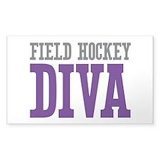 Field Hockey DIVA Decal
