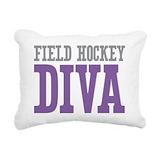 Field Hockey DIVA Rectangular Canvas Pillow