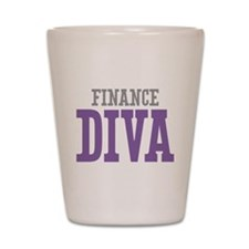 Finance DIVA Shot Glass