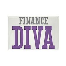Finance DIVA Rectangle Magnet