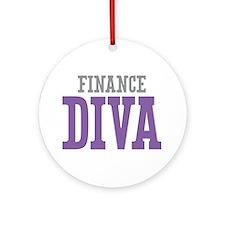 Finance DIVA Ornament (Round)