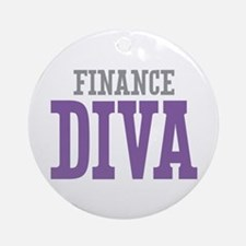 Finance DIVA Ornament (Round)
