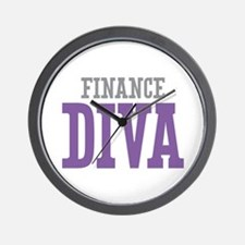 Finance DIVA Wall Clock