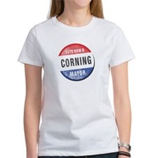 Re-Elect Mayor Corning Tee