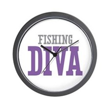 Fishing DIVA Wall Clock