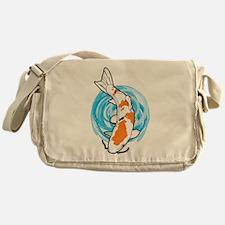 Cartoon Koi Messenger Bag