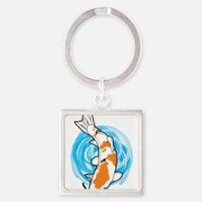 Cartoon Koi Keychains