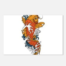 Fancy Koi Postcards (Package of 8)
