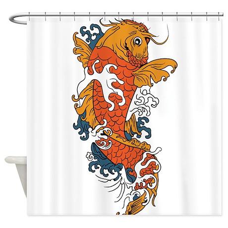 Fancy Koi Shower Curtain By UnderTheSea2