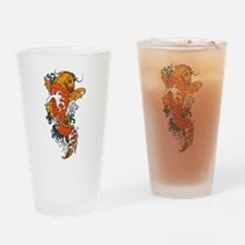 Fancy Koi Drinking Glass