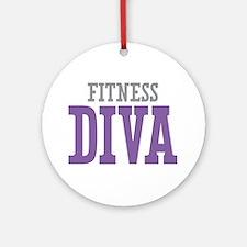 Fitness DIVA Ornament (Round)