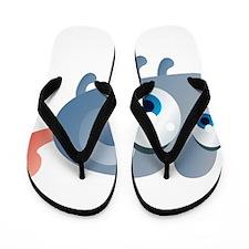 Cartoon Mouse Flip Flops