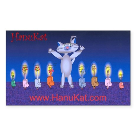 HanuKat Sticker