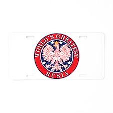 World's Greatest Busia Aluminum License Plate