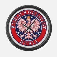 World's Greatest Busia Large Wall Clock