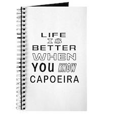 Capoeira Martial Arts Designs Journal