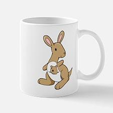 Kangaroo Family Mug