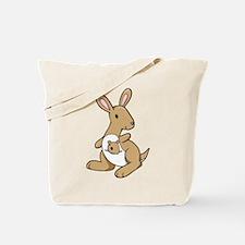 Kangaroo Family Tote Bag