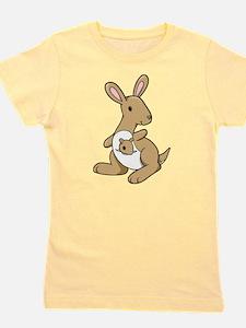 Kangaroo Family Girl's Tee