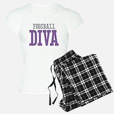 Foosball DIVA Pajamas