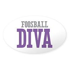 Foosball DIVA Decal