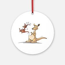 Musical Kangaroo Ornament (Round)