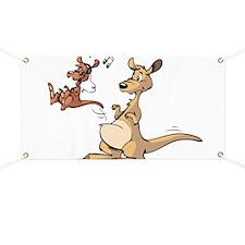 Musical Kangaroo Banner