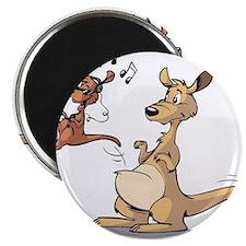 Musical Kangaroo Magnet