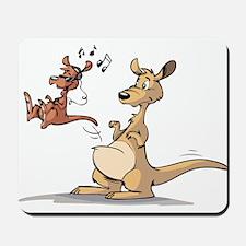 Musical Kangaroo Mousepad