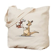 Musical Kangaroo Tote Bag