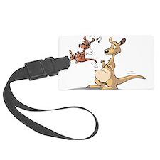 Musical Kangaroo Luggage Tag