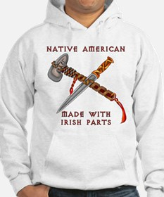 Native American/Irish Hoodie