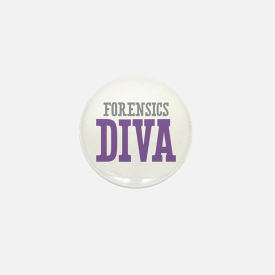 Forensics DIVA Mini Button