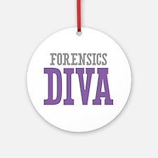 Forensics DIVA Ornament (Round)