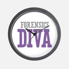 Forensics DIVA Wall Clock