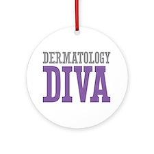 Dermatology DIVA Ornament (Round)