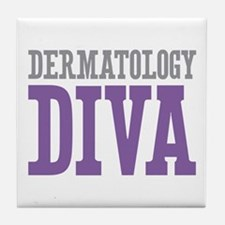 Dermatology DIVA Tile Coaster