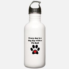 Pit Bull Dog Day Sports Water Bottle