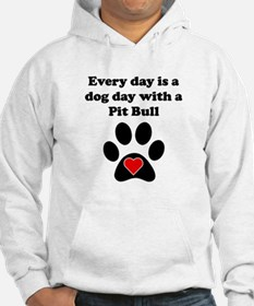 Pit Bull Dog Day Jumper Hoody