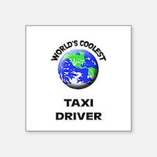 World's Coolest Taxi Driver Sticker