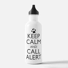 Keep Calm and Call Alert t-shirt Water Bottle