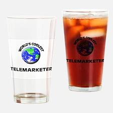 World's Coolest Telemarketer Drinking Glass
