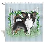 GF Chihuahua- Tri Long Standing Shower Curtain