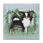 GF Chihuahua- Tri Long Standing Tile Coaster
