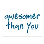 Awesomer Than You Postcards (Package of 8)