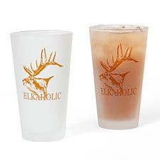 Elkaholic o Drinking Glass